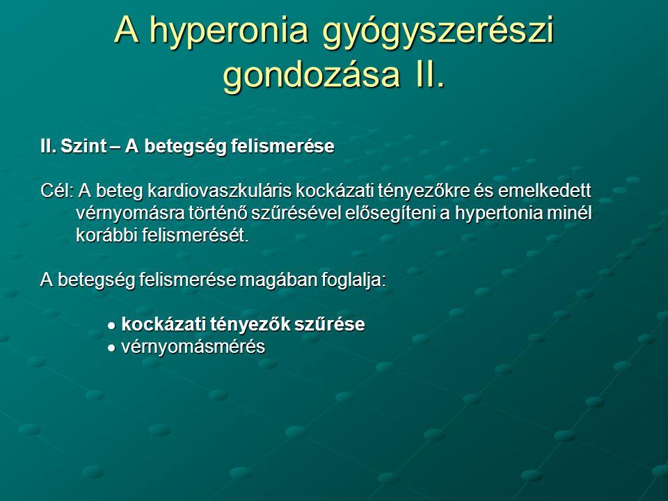 hipertónia az egészséges életmód programjában