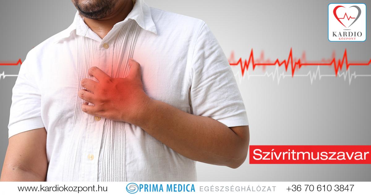 magas vérnyomás aritmia fogyatékosság