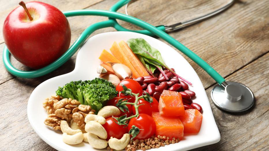 étel a magas vérnyomásért menü