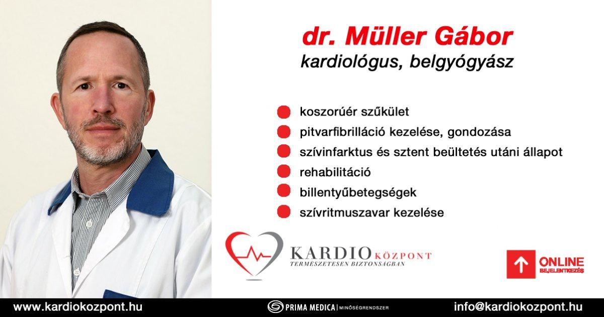 magas vérnyomás kardiológiai központja