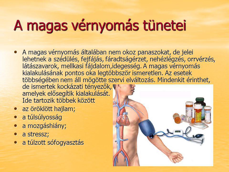 a hipertónia jelei 1
