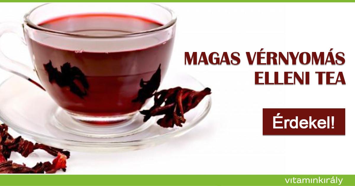 magas vérnyomás ezzel a teával magas vérnyomás ellenálló kezelés