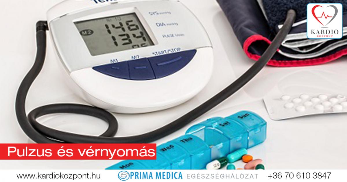 magas vérnyomás pulzus 120