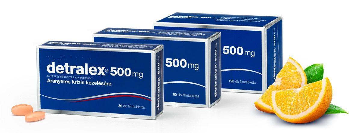 A Detralex növelheti a vérnyomást?