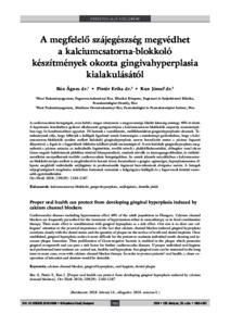 kalciumcsatorna-blokkolók magas vérnyomás esetén hipertónia miatt a fogyatékosság második csoportja