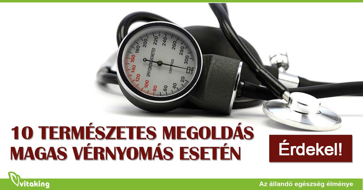 Vérnyomás, magas vérnyomás (hipertonia) - EgészségKalauz
