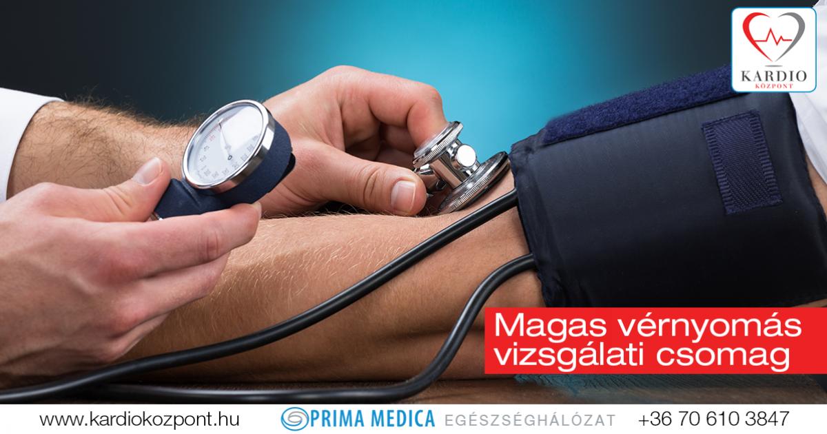 magas vérnyomás vizsgálandó