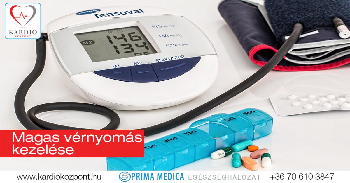 mit hogyan kell kezelni a magas vérnyomást