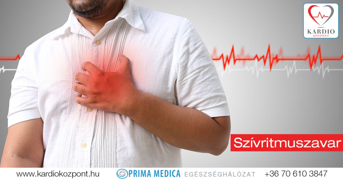 aritmia szindróma magas vérnyomás